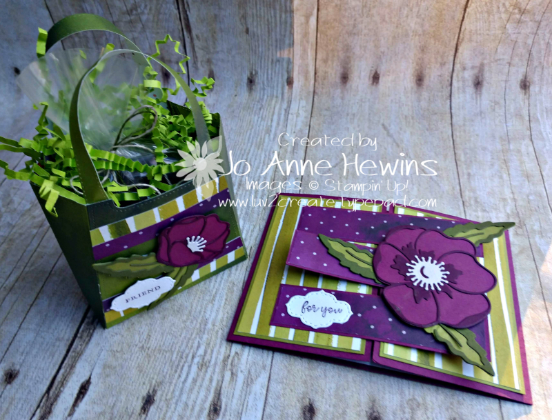 OSAT Best Dressed Dies and Card by Jo Anne Hewins