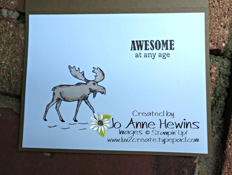Merry Moose September Inside by Jo Anne Hewins