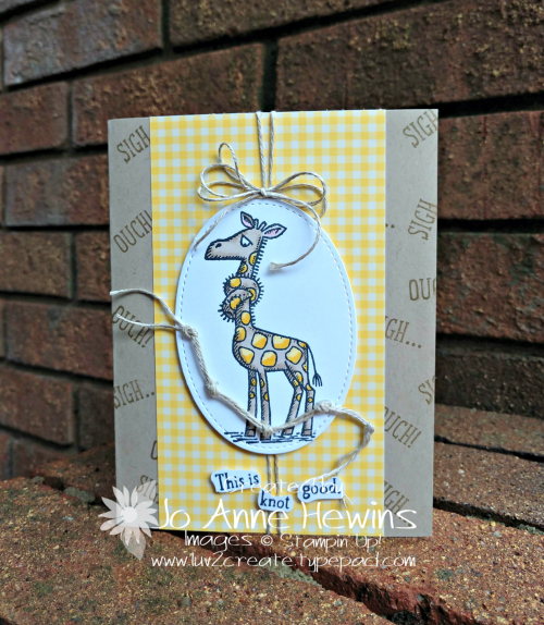 Back on Your Feet Card by Jo Anne Hewins