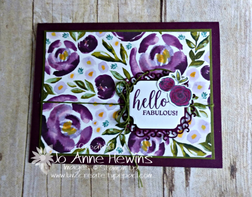 All Dressed Up Card by Jo Anne Hewins