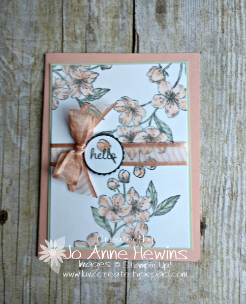 Forever Blossoms by Jo Anne Hewins