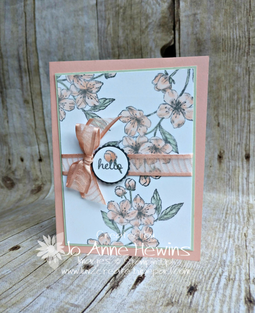 Forever Blossoms Card by Jo Anne Hewins