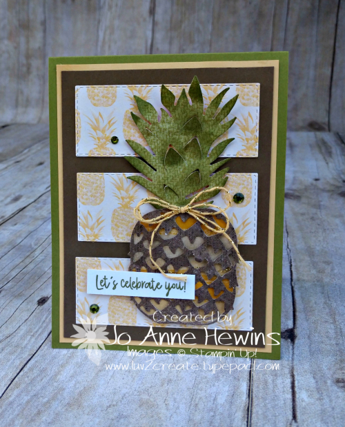 CCMC#596 Timeless Tropical Card by Jo Anne Hewins