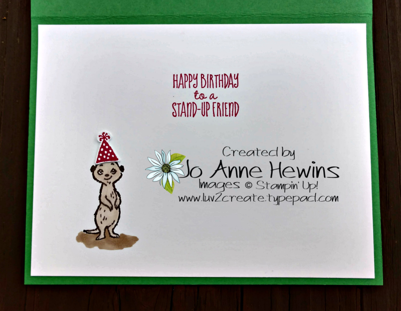 The Gangs All Meer Inside of Card by Jo Anne Hewins