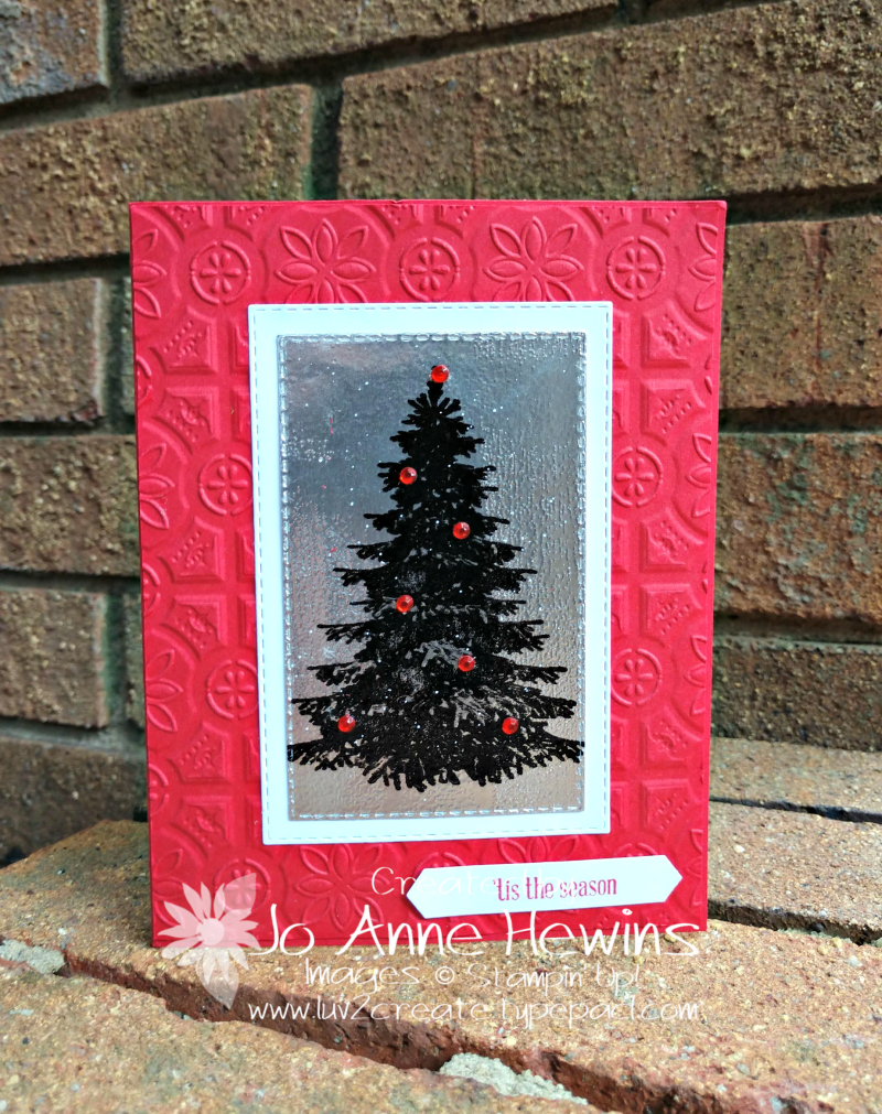 Winter Woods Christmas Ice by Jo Anne Hewins