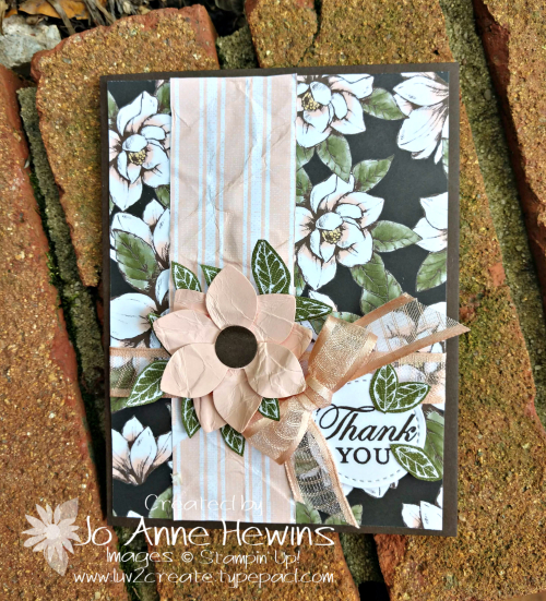 Perennial Flower Challenge Card by Jo Anne Hewins