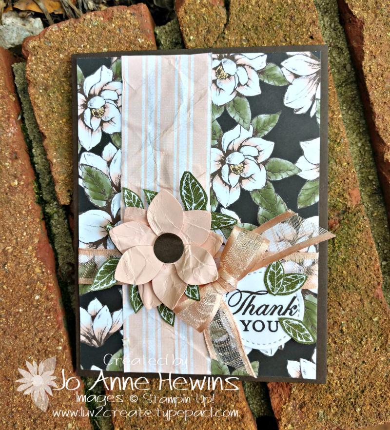 Perennial Flower Challenge Card by Jo Anne Hewins