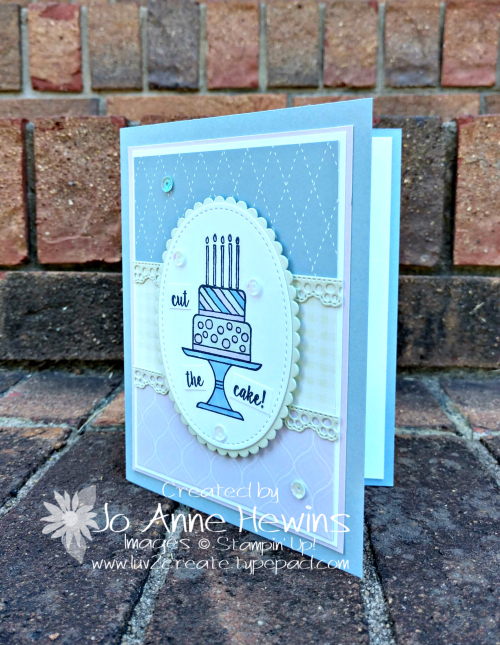 Color Fusers for July Piece of Cake Stamp Set by Jo Anne Hewins