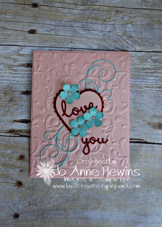 CCMC#597 Heart Combo by Jo Anne Hewins