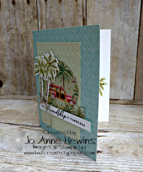 CCMC#598 Timeless Tropical by Jo Anne Hewins