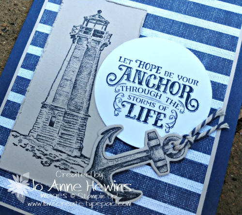 Come Sail Away for the Whisk & Barrel Close Up by Jo Anne Hewins
