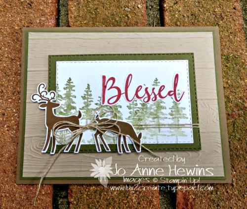 Dashing Deer by Jo Anne Hewins