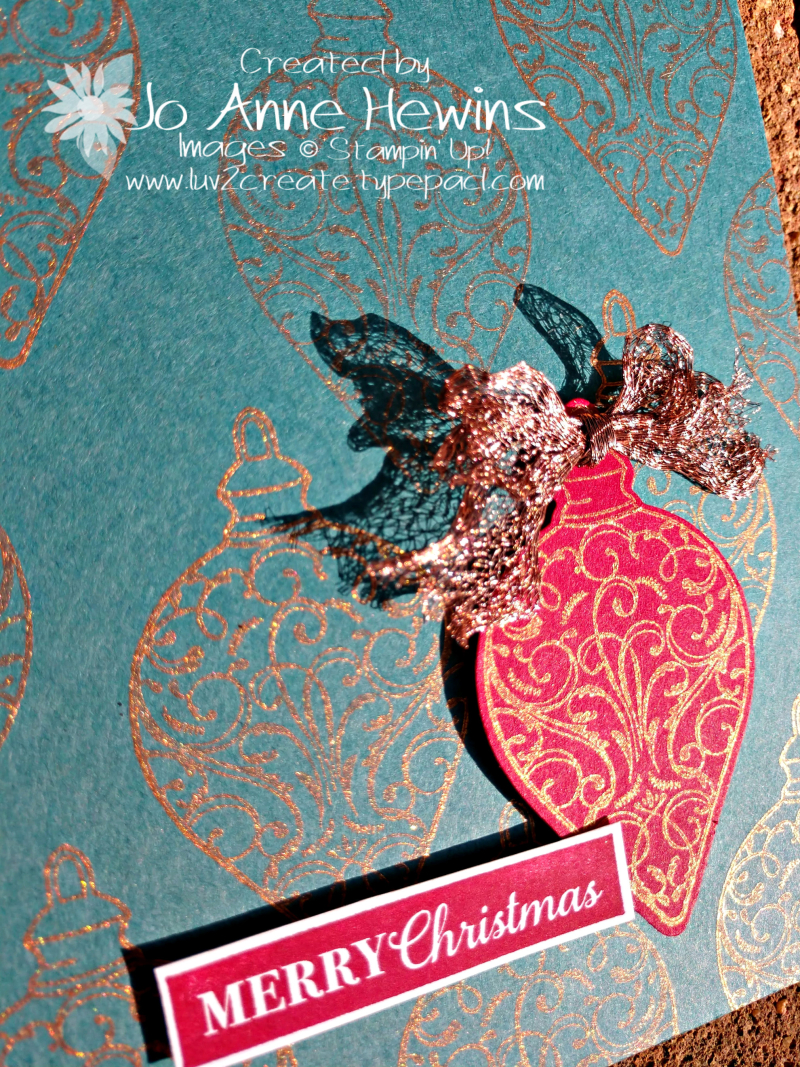 Color Fusers for November Christmas Gleaming Close Up Sparkle by Jo Anne Hewins