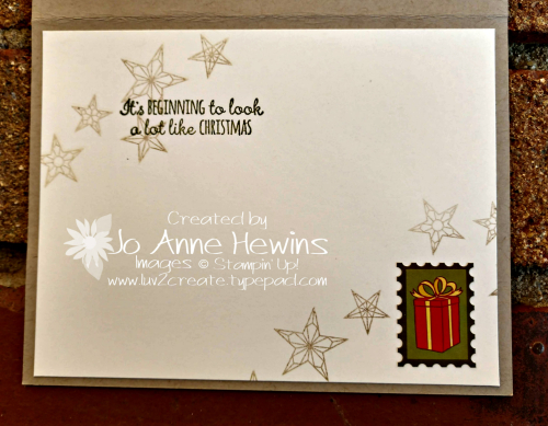 CCMC #586 The Night Before Christmas Inside by Jo Anne Hewins