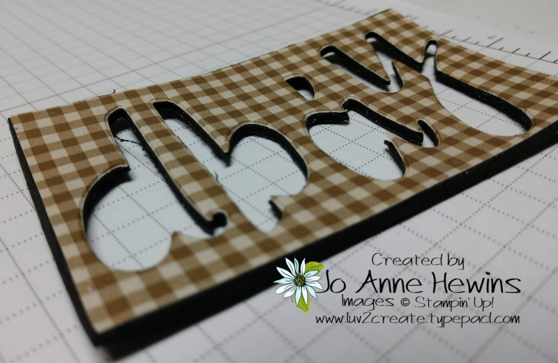 Hand Lettered Birthday Card and This Little Piggy Fun Foam by Jo Anne Hewins