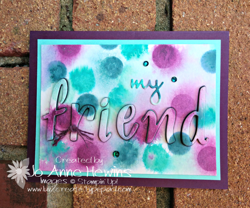 Color Fusers for August by Jo Anne Hewins
