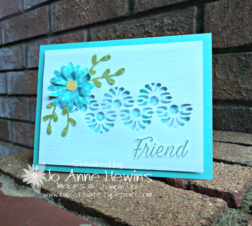 Tasteful Backgrounds with Medium Daisy Punch by Jo Anne Hewins