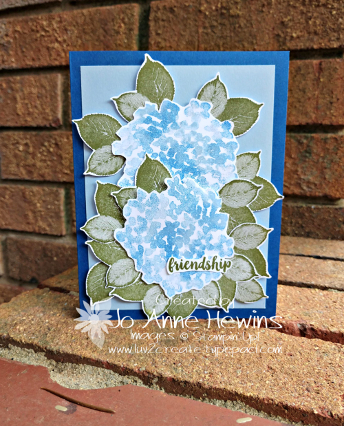 Beautiful Friendship and Healing Hugs Card by Jo Anne Hewins