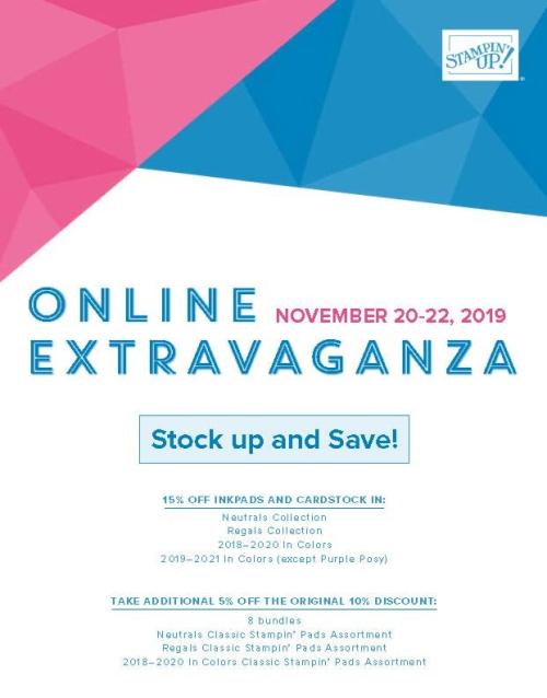 Online Extravaganza 1