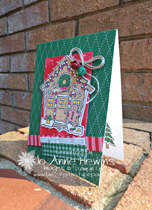 CCMC #588 Yummy Christmas Card by Jo Anne Hewins