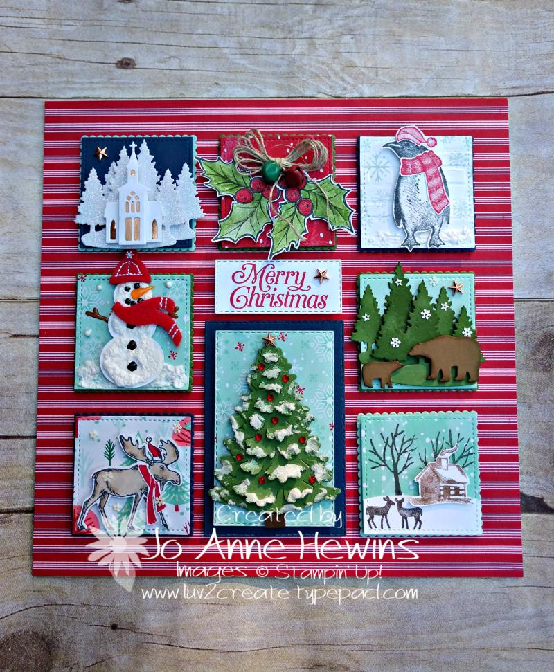 Christmas Sampler 2019 by Jo Anne Hewins