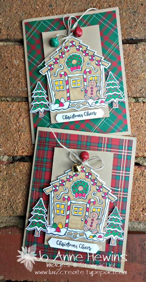 Yummy Christmas Cards by Jo Anne Hewins