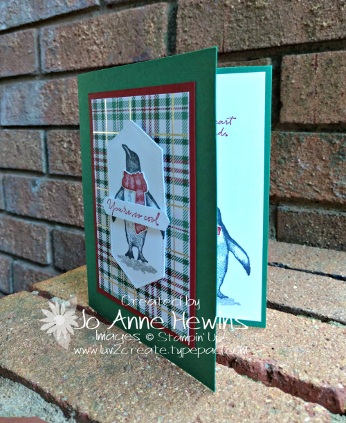 Playful Penguins September Class Project by Jo Anne Hewins