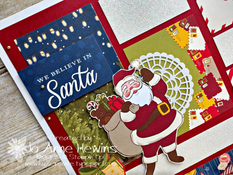 Night before Christmas Sampler Upper Left