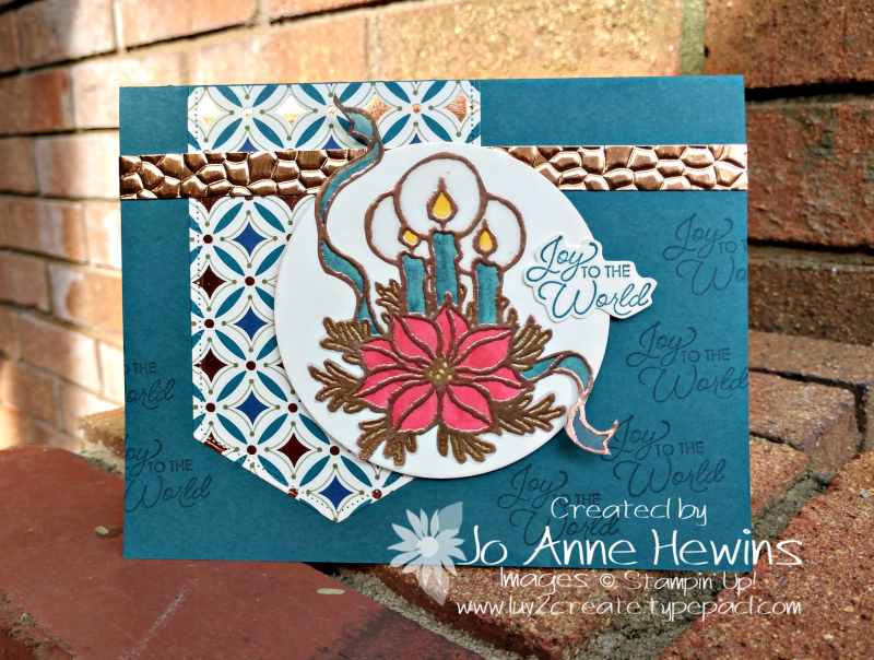 CCMC#580 God's Peace by Jo Anne Hewins