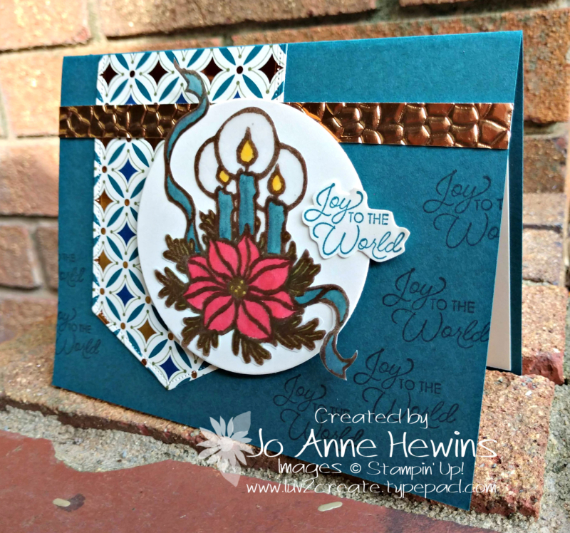 CCMC #580 God's Peace Card by Jo Anne Hewins