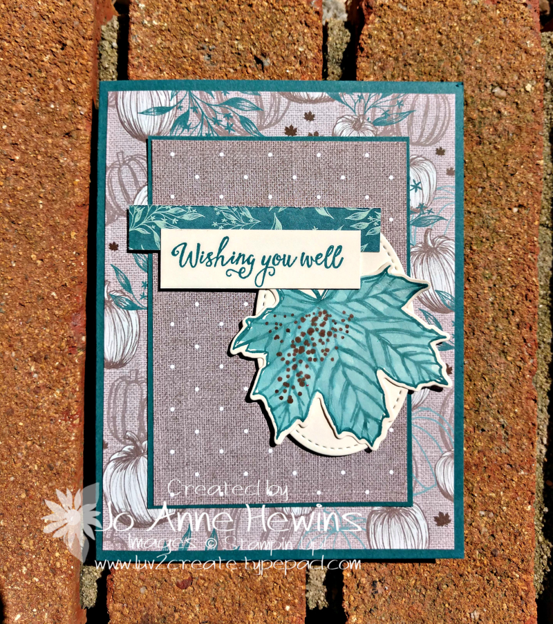 CCMC #582 Gather Together Bundle Card by Jo Anne Hewins