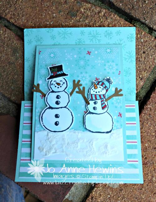 Snowman Season by Jo Anne Hewins