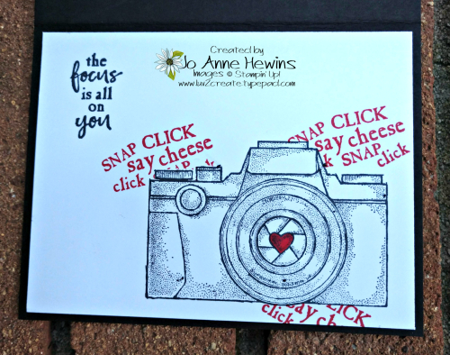 Capture the Good Inside of Card by Jo Anne Hewins
