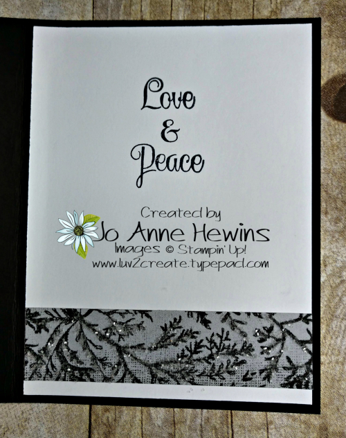 Come Sail Away Christmas Inside by Jo Anne Hewins