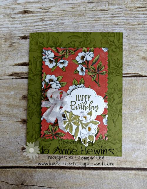 OSAT Botanical Prints Card by Jo Anne Hewins