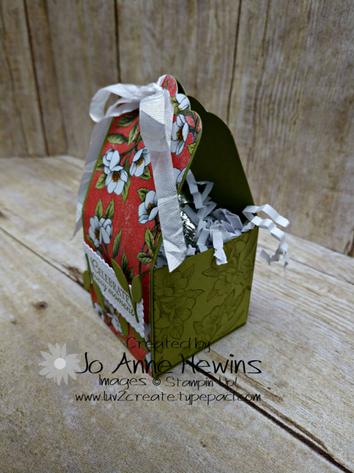 OSAT Botanical Prints Treat Box Side View 2 by Jo Anne Hewins