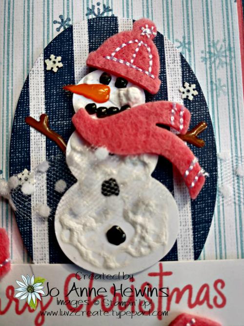 Snowman Season Medley Snowman by Jo Anne Hewins