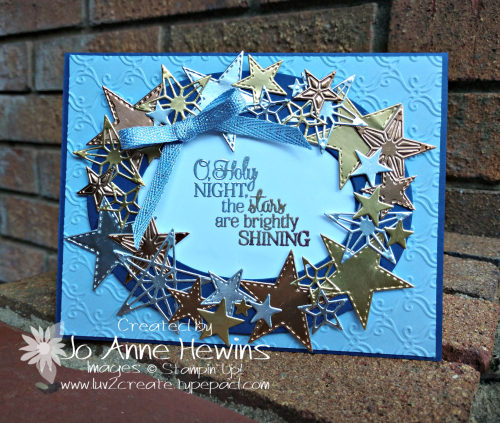 So Many Stars and Stitched Stars Dies by Jo Anne Hewins