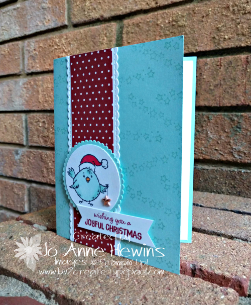 Birds of a Feather Christmas Card for Class by Jo Anne Hewins