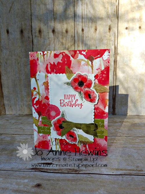 CCMC#603 Poppy by Jo Anne Hewins
