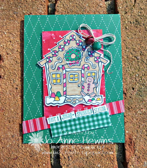 CCMC #588 Yummy Christmas by Jo Anne Hewins