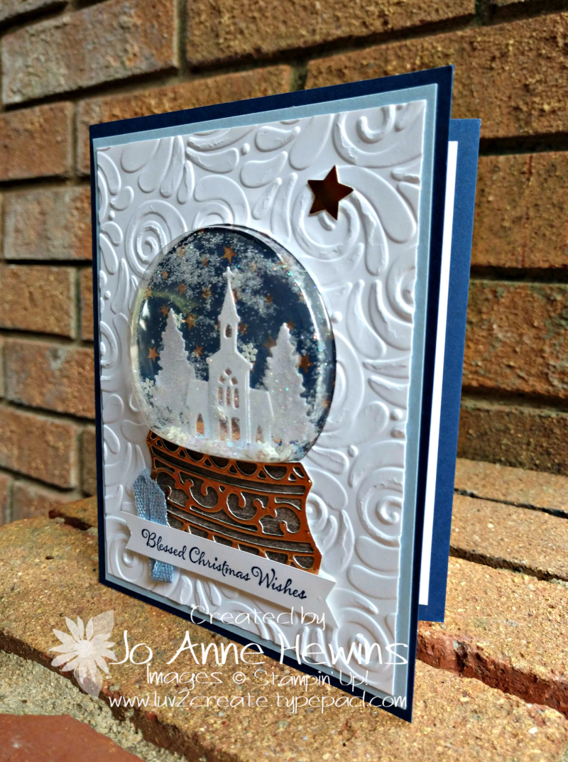 Snow Globe Scenes for Christmas by Jo Anne Hewins