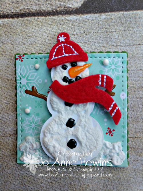 Christmas Sampler Snowman Season