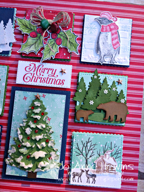 Christmas Sampler 2019 right side by Jo Anne Hewins