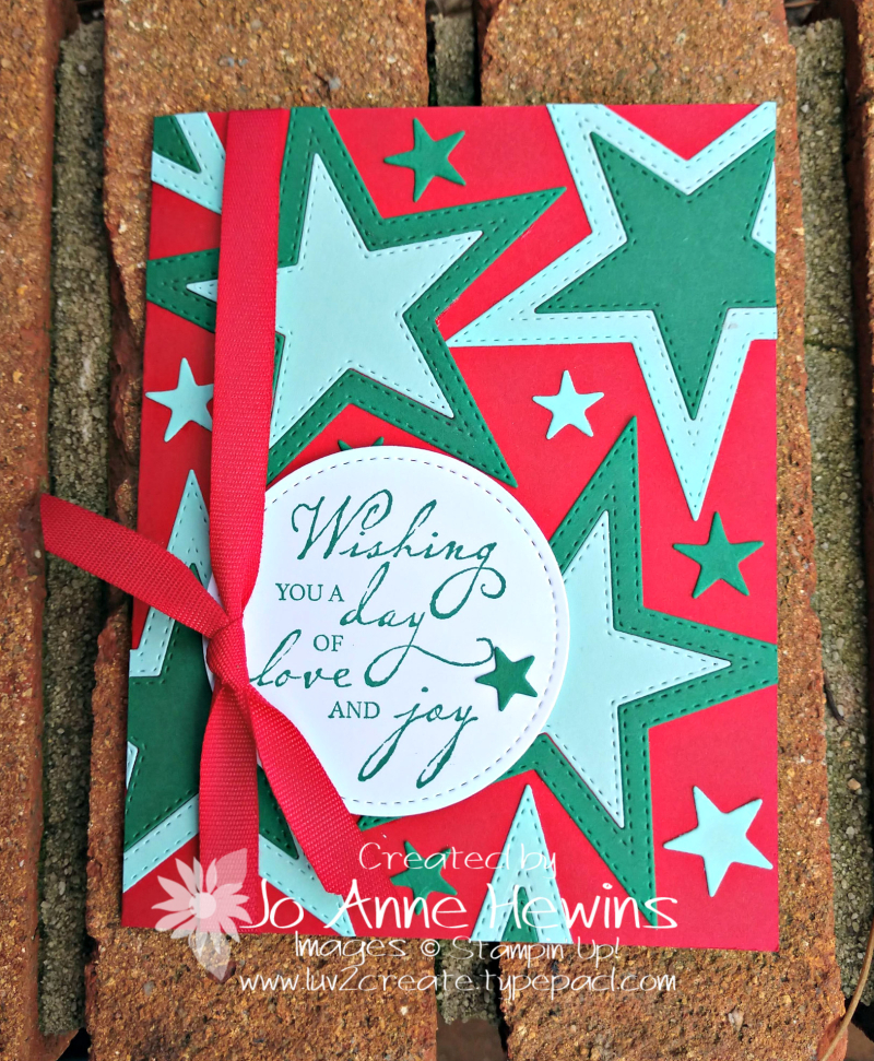 CCMC #589 Stitched Stars by Jo Anne Hewins