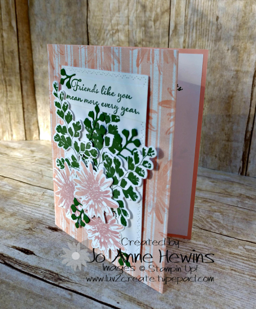 Positive Thoughts Card is by Jo Anne Hewins