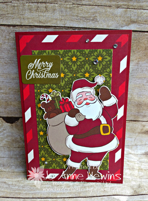 Night Before Christmas Memories & More Santa and Bag by Jo Anne Hewins