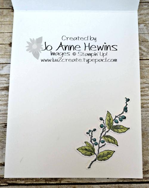 Botanical Prints Inside by Jo Anne Hewins