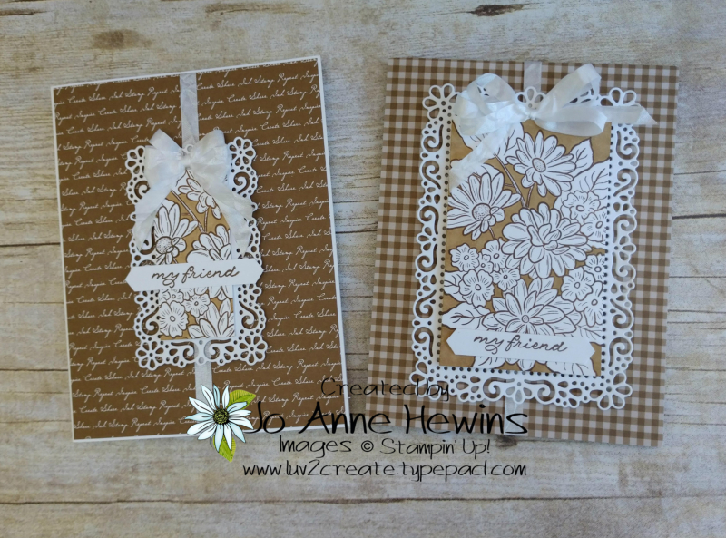 Ornate Style Neutrals Cards by Jo Anne Hewins
