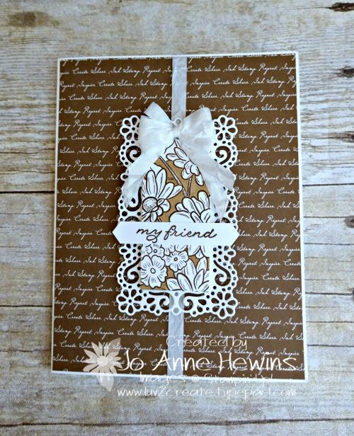 Ornate Style Neutral Script by Jo Anne Hewins